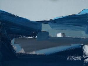 Above Dalveen, 31 x 41 cm Oil 2014