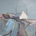 Ardvaser Road, 61 x 61cm Oil 2011