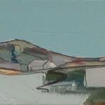 Auchindrain 2 22.5 x 16 cm Oil 2012