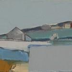 Auchindrain 3 22.5 x 16cm Oil 2012
