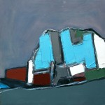 Auchmithie Cliff#2 Oil61 x 61cm 2009