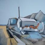 Auchmithie Study 10 61 x 74cm Oil 2011