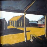Barn 1 Oil 36 x 36cm 2007