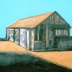 Barn 2 Oil 36 x 36cm 2007
