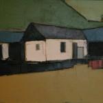 Barn #2 Oil 49 x 59cm 2008