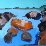 Coast Oil 78 x 70cm 2007