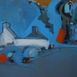 Cottage II, 41 x 31cm Oil 2013