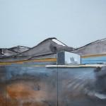 Cuillin Road 2, 74 x 61cm Oil 2013