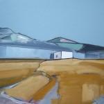 Cuillin Road I 74 x 61cm Oil 2011