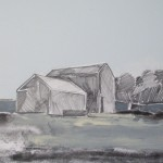 Cumbrian Barn 4, 23 x 17cm Oil 2010
