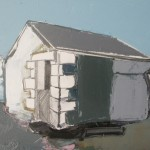 Cumbrian Barn 5, 23 x 17cm Oil 2010