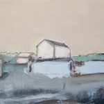 Cumbrian Barn 6, 23 x 17cm Oil 2010