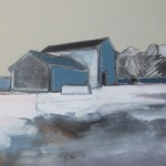 Cumbrian Barn 9, 44 x 35cm Oil 2010