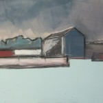 Cumbrian barn 8, 44 x 35cm Oil 2010