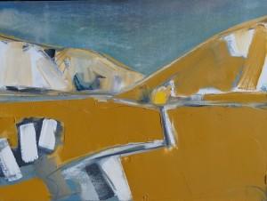 Dalveen Pass 31 x 41 cm Oil 2014