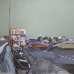 Depot 122 x 91.5cm Oil 2013