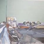 Depot 122 x 91.5cm Oil 2012