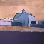 Elgol house Oil122 x 91.5cm 2009
