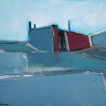 Elgol study, Oil 30.5 x 25.5cm 2009