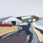 Farm Roads I 81 x 61cm Oil 2011