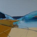 Glenshee Basin 30 x 40cm Oil 2014