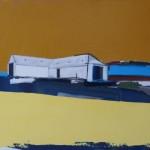 Glenshee Byre 61 x 58cm Oil