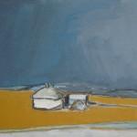 Hut Oil 94 x 61cm 2008