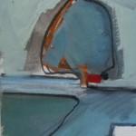 Milnton Beech 21 x 17cm Oil 2014