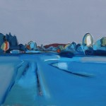 Milnton Field, 78 x 58 cm Oil 2014