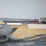 Montrose Road  74 x 61cm Oil 2011