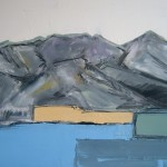 Mountains Oil 61 x 60cm 2008