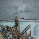 Old Jetty Oil 61 x 61cm 2008