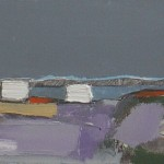 Outpost study 22.5 x 16cm Oil 2012