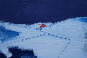 Over Dalveen, 40 x 30 cm Oil 2014