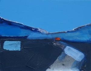 Over Dalveen Study, 24 x 19 cm Oil 2014