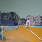Poltalloch House, 122 x 91.5 oil 2013
