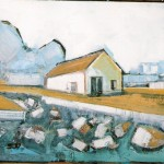 Sea Hut 1 Oil 55 x 46cm 2007