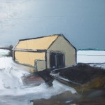 Sea Hut 10, 44 x 35cm Oil 2010