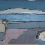 Seascape #2 Oil 81 x 40cm 2008