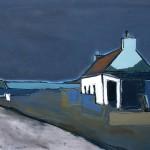 Skye, Ardvasar#1 Oil 81x 61cm 2009