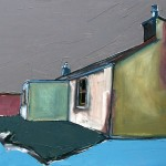 Skye, Cottage#2 Oil 74 x 61cm 2009