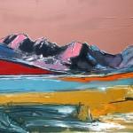 Skye, Cuillin#4 Oil 94 x 61cm 2009