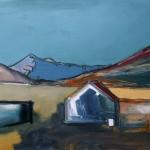 Skye, Cuillin#5 Oil 74 x 61cm 2009