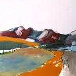 Skye, Cuillin#6 Oil 122 x 91.5cm 2009