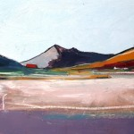 Skye, Elgol#3 Oil 94 x 61cm 2009