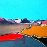 Skye, Elgol#4 Oil 122x 91.5cm 2009
