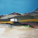 Skye Near Cullin, 122 x 91.5cm Oil 2010