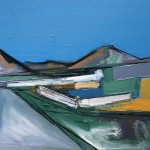 Skye,Cuillin #3 Oil 74 x 61cm 2009
