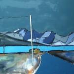 Skye,Cuillin#7 Oil 122 x 91.5cm 2009
