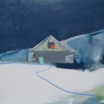 Snow Cottage-Skye 74 x 61 cm Oil 2014